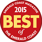 2015 Best of Emerald Coast Award