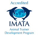 Accredited by the International Marine Animal Trainers Association